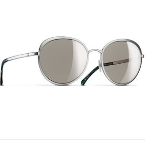 Chanel mirrored sunglasses